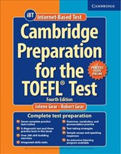 Cambridge Preparation for the TOEFL : Test Book with Online Practice Tests and Audio CDs (8) Pack - Gear, Jolene