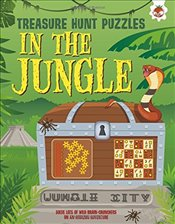 Treasure Hunt Puzzles : In The Jungle - Moore, Gareth
