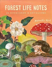 Forest Life Notes : 20 Notecards & Envelopes - Lete, Nathalie