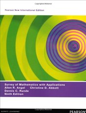 Survey of Mathematics with Applications 9e PNIE  - Angel, Allen R.