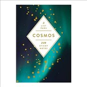 Cosmos Sticky Notes Hardcover Book - Galison,