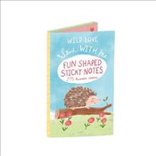 Stick with Me / Wild Love Shaped Sticky Notes - Galison,
