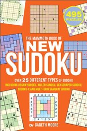 Mammoth Book of New Sudoku - Moore, Gareth