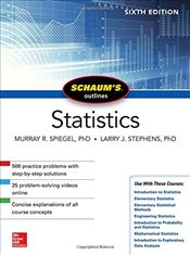 Schaums Outline of Statistics 6e - Spiegel, Murray R.