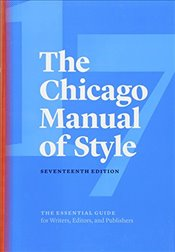 Chicago Manual of Style - Chicago, Univ