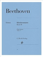 Beethoven: Piano Sonatas - Volume 2 (Henle Urtext Edition) - Sheet Music -