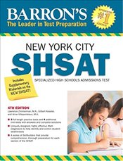 Barrons Shsat : New York City Specialized High Schools Admissions Test 4e -