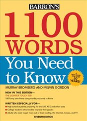 1100 Words You Need to Know 7e - Bromberg, Murray