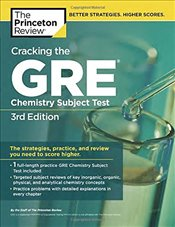 Cracking the GRE Chemistry Subject Test : 3e -