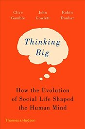 Thinking Big : How the Evolution of Social Life Shaped the Human Mind - Gamble, Clive