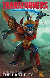 Transformers Windblade: The Last City - Scott, Mairghread