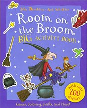 Room on the Broom Big Activity Book - Donaldson, Julia