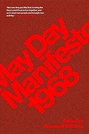 May Day Manifesto 1968 - Williams, Raymond