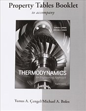 Property Tables Booklet for Thermodynamics 8e : An Engineering Approach - Çengel, Yunus