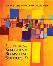 Essentials of Statistics for the Behavioral Sciences 9e - Gravetter, Frederick