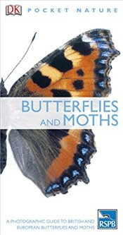 Butterflies and Moths (RSPB Pocket Nature) - DK,