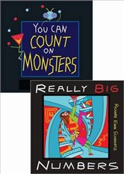 Really Big Numbers and You Can Count on Monsters, 2-Volume Set - Schwartz, Richard Evan