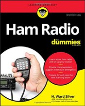Ham Radio For Dummies (For Dummies (Computer/Tech)) - Silver, H. Ward