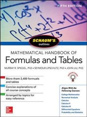 Schaums Outline of Mathematical Handbook of Formulas and Tables 5e - Spiegel, Murray R.