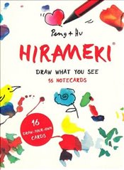 Hirameki : 16 Notecards : Draw What You See - Peng & Hu