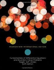 Fundamentals of Differential Equations and Boundary Value Problems 6e PNIE - Nagle, R Kent