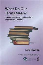 What Do Our Terms Mean?: Explorations Using Psychoanalytic Theories and Concepts (The International  - Hayman, Anne