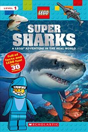 Super Sharks: A Lego Adventure in the Real World (Lego Nonfiction) - Arlon, Penelope