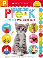 Jumbo Workbook : Get Ready for Pre-K  - Scholastic,