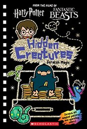 Wizarding World : Hidden Creatures Scratch Magic - Scholastic,