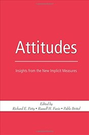 Attitudes : Insights from the New Implicit Measures - Fazio, Russell H.