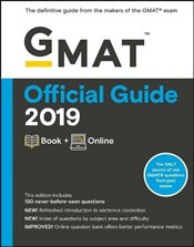 GMAT Official Guide 2019 : Book + Online - GMAC - Graduate Management Admission Council