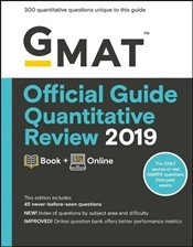GMAT Official Guide 2019 Quantitative Review : Book + Online - GMAC - Graduate Management Admission Council