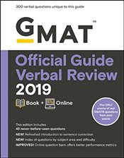 GMAT Official Guide 2019 Verbal Review : Book + Online   - GMAC - Graduate Management Admission Council