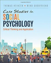 Case Studies in Social Psychology : Critical Thinking and Application - Heinzen, Thomas E.
