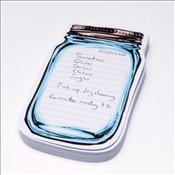 Thinking Gifts - Mason Jar Sticky Notes MJ : Yapışkanlı Not Kağıdı -