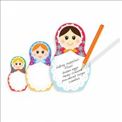 Thinking Gifts - Nesting Dolls Sticky Notes ND : Yapışkanlı Not Kağıdı -