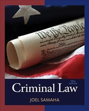 Criminal Law (Mindtap Course List) - Samaha, Joel