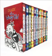 Diary of a Wimpy Kid Box of Books : Books 1-12  - Kinney, Jeff