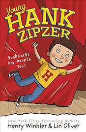 Young Hank Zipzer 1: Bookmarks Are People Too! - Winkler, Henry