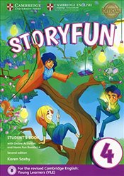 Storyfun for Movers Level 4 Students Book with Online Activities and Home Fun Booklet 4 - Saxby, Karen