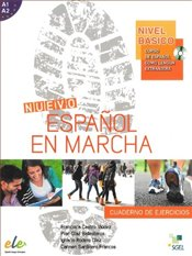 Nuevo Espanol en Marcha Basico : Exercises Book + CD: Levels A1 and A2 in One Volume - Viudez, Francisca Castro