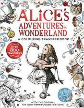 Alice in Wonderland: A Colouring Transfer Book - Carroll, Lewis
