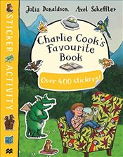 Charlie Cooks Favourite Book Sticker Book - Donaldson, Julia