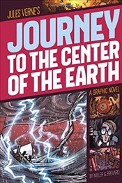Journey to the Center of the Earth : A Graphic Novel (Graphic Revolve : Common Core Editions) - Verne, Jules
