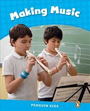 Level 1 : Making Music CLIL (Pearson English Kids Readers) -