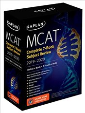MCAT Complete 7-Book Subject Review 2019-2020 : Online + Book  -