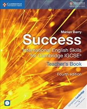 Success International English Skills for Cambridge IGCSE® Teachers Book with Audio CDs (2) (Cambrid - Barry, Marian