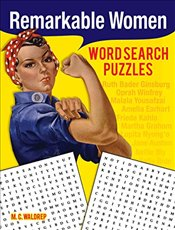 Remarkable Women Word Search Puzzles - Waldrep, M. C.