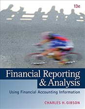 Financial Reporting and Analysis 13E - Gibson, Charles H.