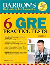 6 GRE Practice Tests (Barrons 6 GRE Practice Tests) - Freeling, David
